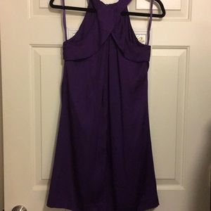 Banana Republic silk flowy swing dress 6P
